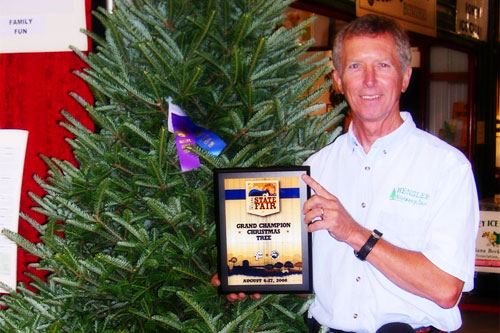 Photos Grand Champion Fraser Fir At The Indiana State Fair