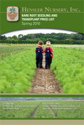 2010 Hensler Nursery Seedling and Transplant List