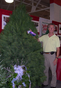 Hensler Nursery Entered The Annual Indiana State Fair This Year With Two Trees A Fraser Fir And White Pine 8 Selected By S