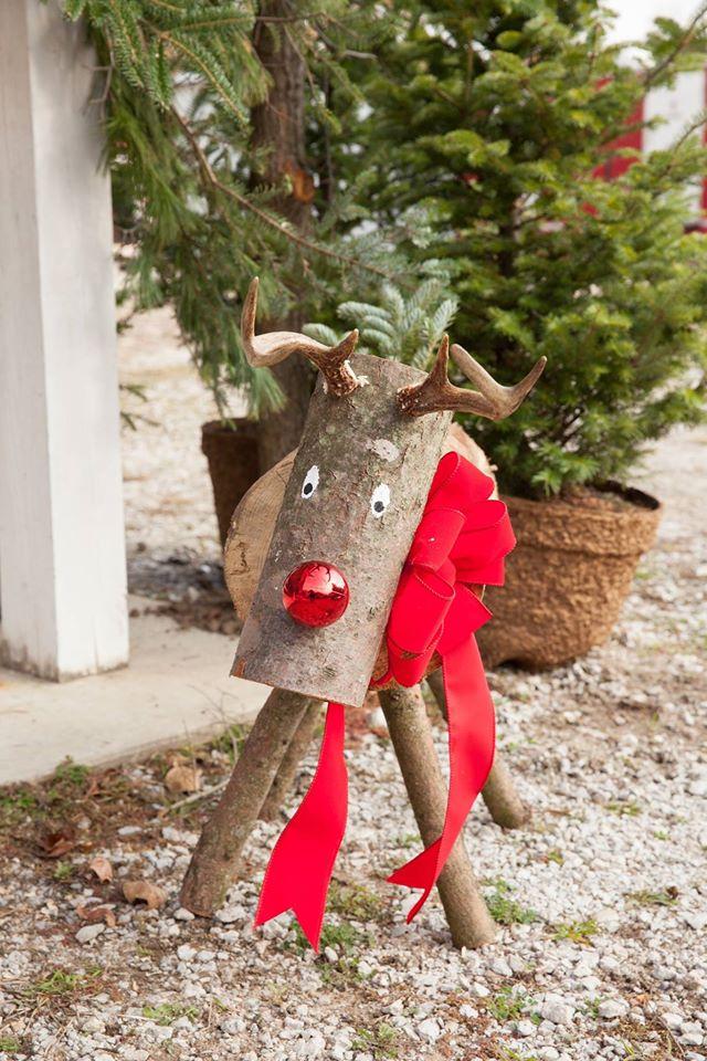 Handmade Wooden Deer