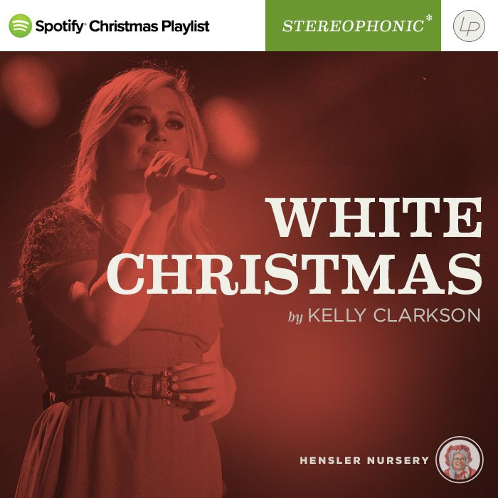 Kelly Clarkson White Christmas